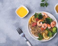 Κινόα με γαρίδες στο φούρνο - Images