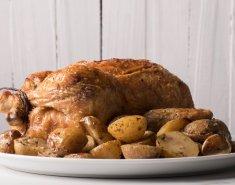 Το τέλειο κοτόπουλο στο φούρνο με πατάτες - Images