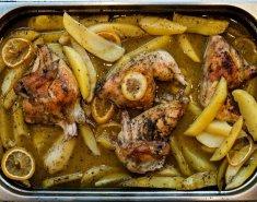 Κοτόπουλο λεμονάτο FOODSAVER με πατάτες στο φούρνο - Images