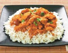 Κoτόπουλο με Green Curry Paste Exοtic food - Images
