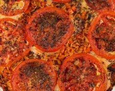 Κριθαράκι με τυριά και λαχανικά στο φούρνο - Images