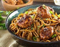Γιορτινό κοτόπουλο με Σπαγγέτι MITSIDES  - Images