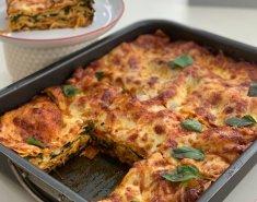 Λαζάνια με σπανάκι, μοτσαρέλα και ντομάτα - Images