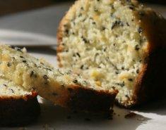 Κέικ λεμονιού με μαύρο σουσάμι - Images