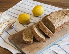 Ψωμί λεμονιού με παπαρουνόσπορους - Images