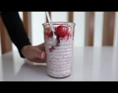 Strawberry & Lemonade Overnight oats (video) - Images