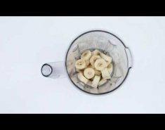 Παγωτό μπανάνα με φυστικοβούτυρο (video) - Images