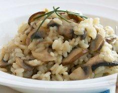 Ριζότο με τόνο και μανιτάρια - Images