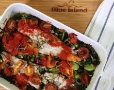 Μπακαλιάρος Blue Island με ντοματούλες - Images