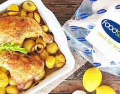 Ζουμερά Μπουτάκια Κοτόπουλου με Πατάτες φούρνου - Images