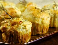 Μuffins με τυρί, ζαμπόν και γιαούρτι  - Images