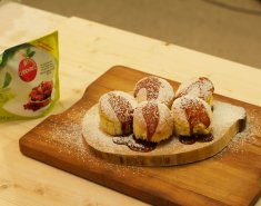 Muffins με λιωμένη καραμέλα (Canderel) - Images