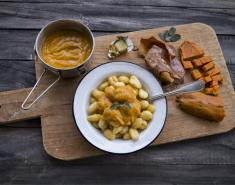 Νιόκι με σάλτσα γλυκοπατάτας - Images
