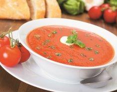 Ντοματόσουπα με νιφάδες βρώμης Mornflake - Images