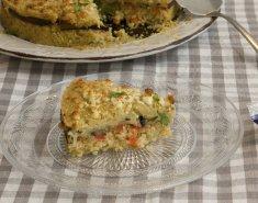 Πουργούρι με μελιτζάνες και χούμους στο φούρνο  - Images