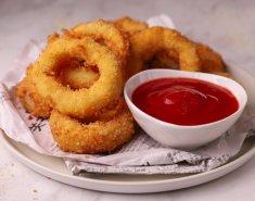 Τυρένια onion rings για ορεκτικό - Images