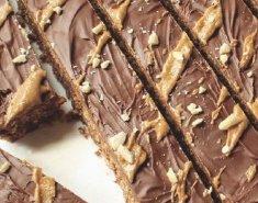 Breakfast bars με σοκολάτα, βρώμη και φιστικοβούτυρο - Images