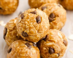 Peanut butter energy bites - Images