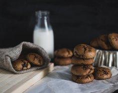 Υγρά μπισκότα σοκολάτας - Images