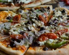 Σπιτική pizza - Images