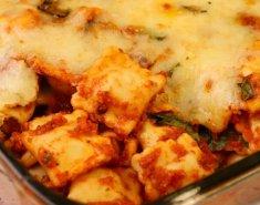 Ραβιόλι με σπανάκι στο φούρνο - Images