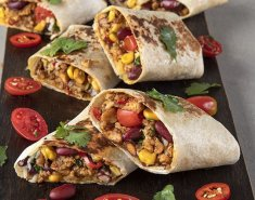 Burritos με κιμά κοτόπουλου - Images