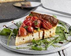 Τάρτα με τυρί κρέμα και ντοματίνια - Images