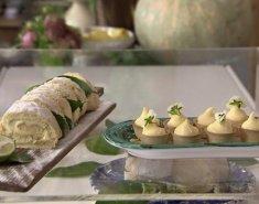 Ρολό γεμιστό με κρέμα λεμονιού - Images