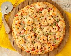 Νηστίσιμη πίτσα με γαρίδες Foodsaver - Images