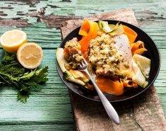 Σολομός Blue Island σοτέ με ταλιατέλες λαχανικών - Images