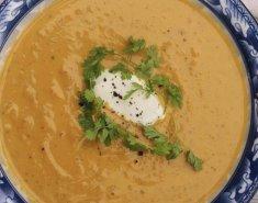 Σούπα βελουτέ με κάστανα και κολοκύθα - Images