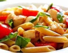Σαλάτα μεσογειακή με πένες (Διαιτητική) - Images