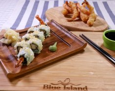 Sushi με γαρίδα Blue Island tempura και μαγιονέζα - Images