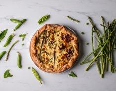 Τάρτα με λαχανικά της Άνοιξης - Images