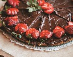 Τάρτα με σοκολάτα και μαρμελάδα φράουλας Stute χωρίς πρόσθετη ζάχαρη - Images