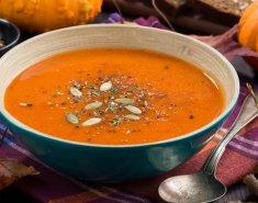 Σούπα κολοκύθας και γλυκοπατάτας  - Images