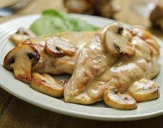 Κοτόπουλο αλά κρεμ με λαχανικά και πιλάφι - Images