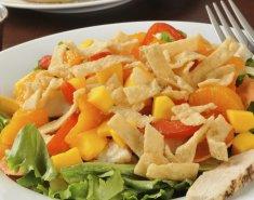 Σαλάτα κοτόπουλου με μάνγκο και μανταρίνια  - Images