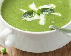 Σούπα βελουτέ με μπιζέλια - Images