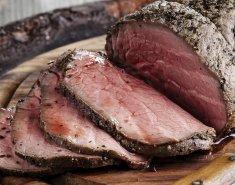 Ροστ μπιφ με σως από μουστάρδα και θυμάρι  - Images