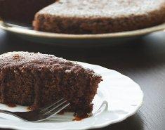Σοκολατένιο κέικ με αλεύρι αμυγδάλου  - Images