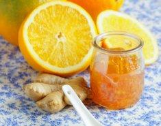 Μαρμελάδα λεμόνι, πορτοκάλι και τζίντζερ - Images