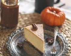 Cheesecake κολοκύθας - Images