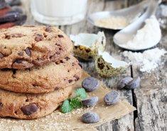 Σοκολατένια μπισκότα βρώμης με καρύδια  - Images