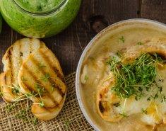 Σούπα βελουτέ με σκόρδο - Images