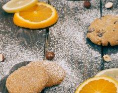 Μπισκότα πορτοκαλιού με κάρδαμο  - Images