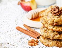 Mπισκότα με μήλο και κανέλα - Images