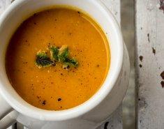 Καροτόσουπα με πορτοκάλι και τζίντζερ - Images