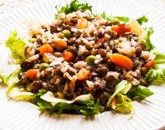 Φακές σαλάτα με σος μουστάρδας και μπαλσάμικο  - Images