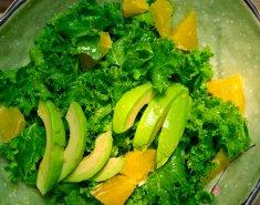 Σαλάτα με αβοκάντο και πορτοκάλι  - Images